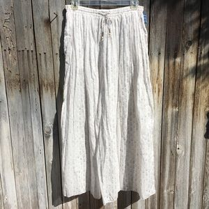 NWT Free People Intimately Dream Time Sleep Pant L